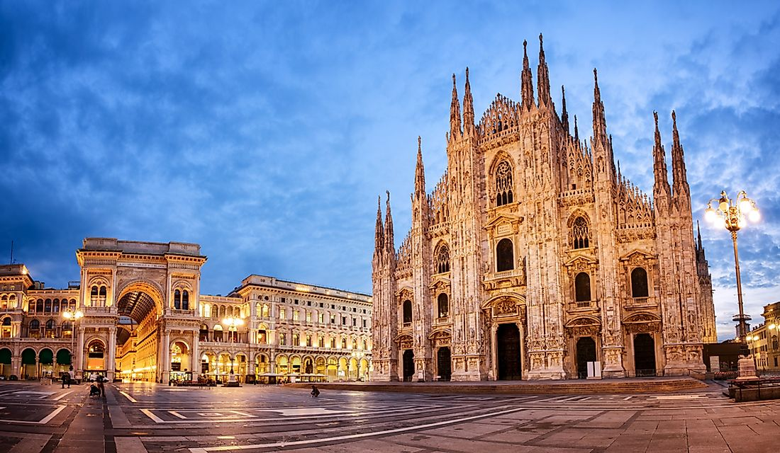 The Milan Cathedral.
