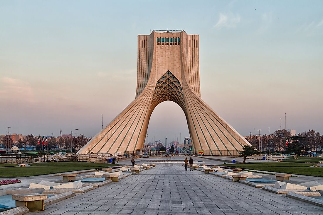 Iran can be considered the oldest country in the world. Editorial credit: Milosz Maslanka / Shutterstock.com.