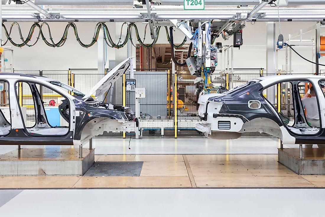 The World S Gest Automobile Companies Worldatlas