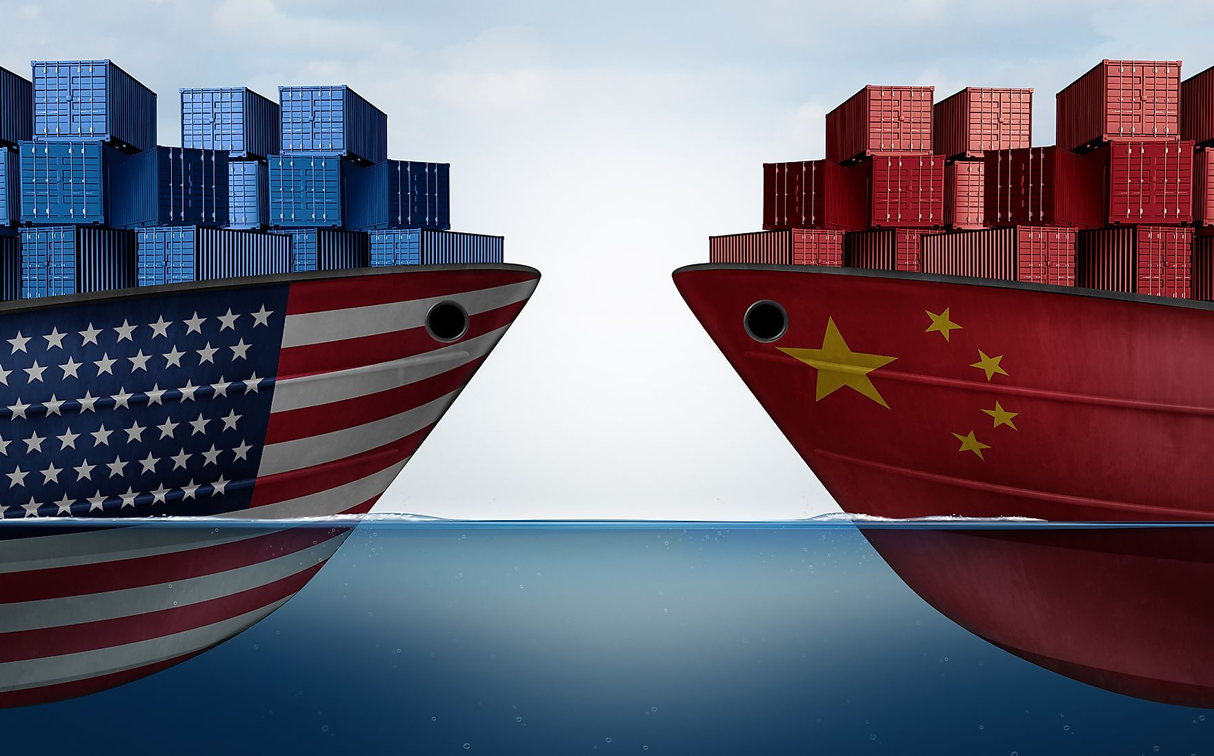 "The United States and China have been involved in what has been called a ""trade war"" due to disagreements over tariffs."