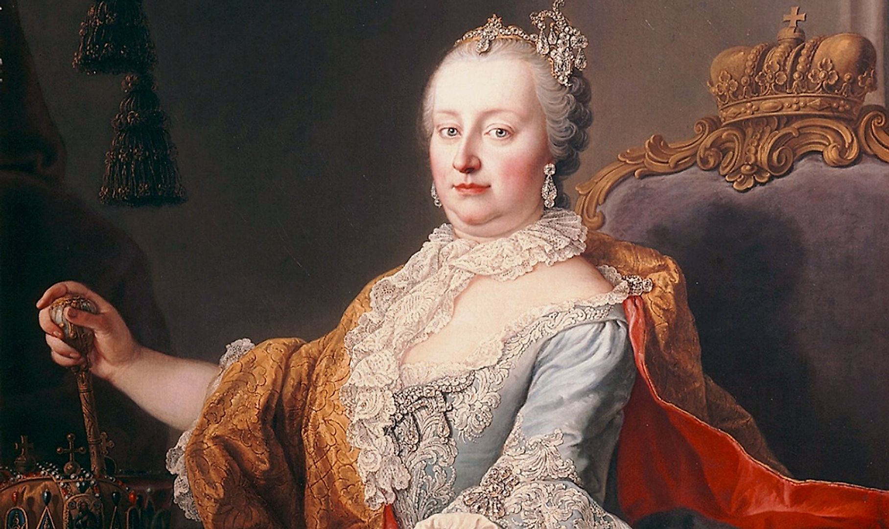 Portrait of Maria Theresa by Martin van Meytens, 1759.