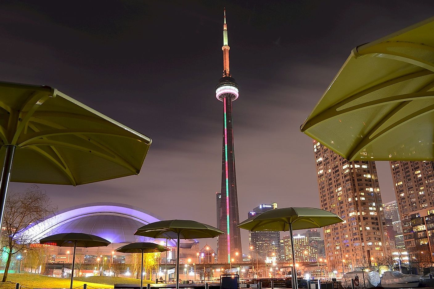The famed CN Tower of Toronto, Ontario. Image credit: ElasticComputeFarm/Pixabay