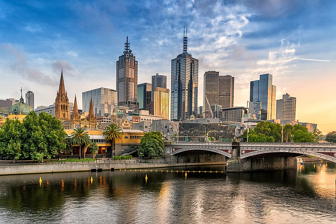 Melbourne, where the University of Melbourne is located.
