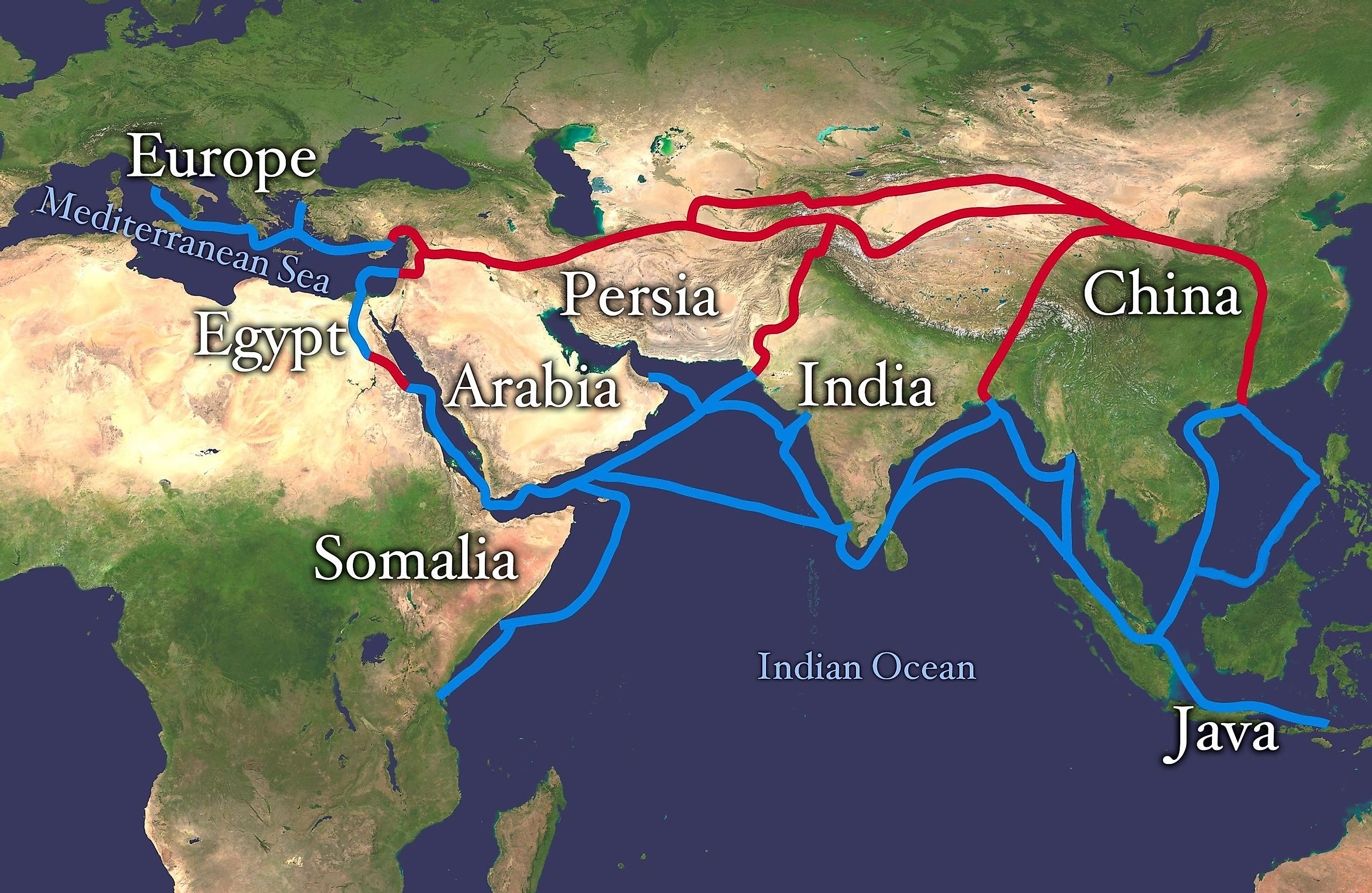 Image result for the silk road