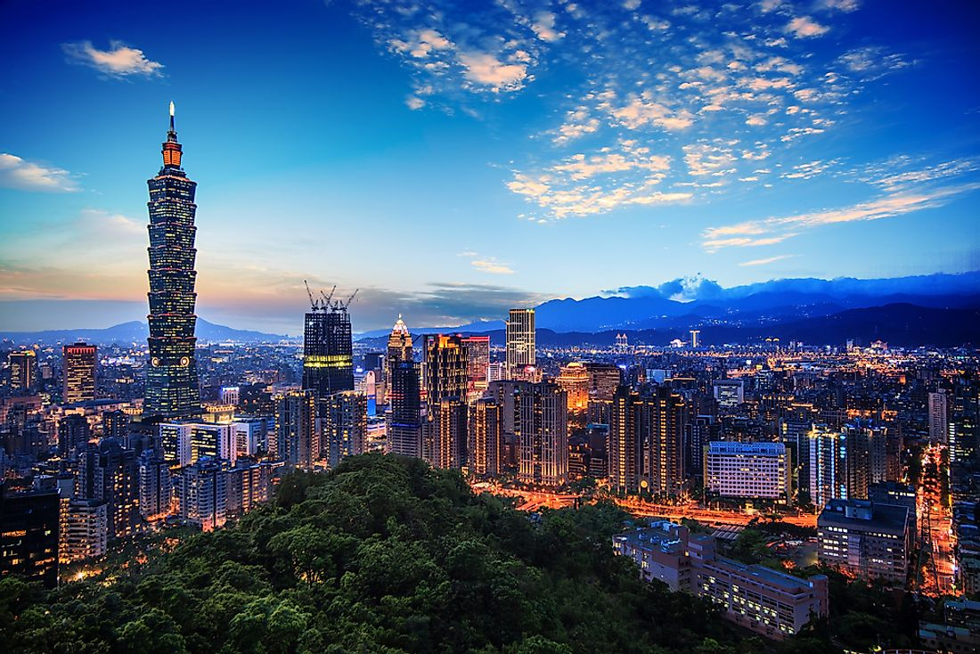 Taipei, the capital of Taiwan, is home to a diverse group of people.
