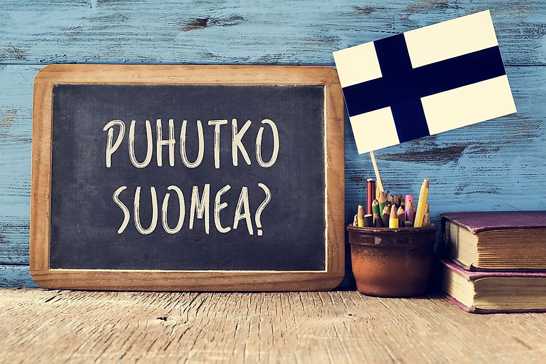 Finnish is the most popular language in Finland.