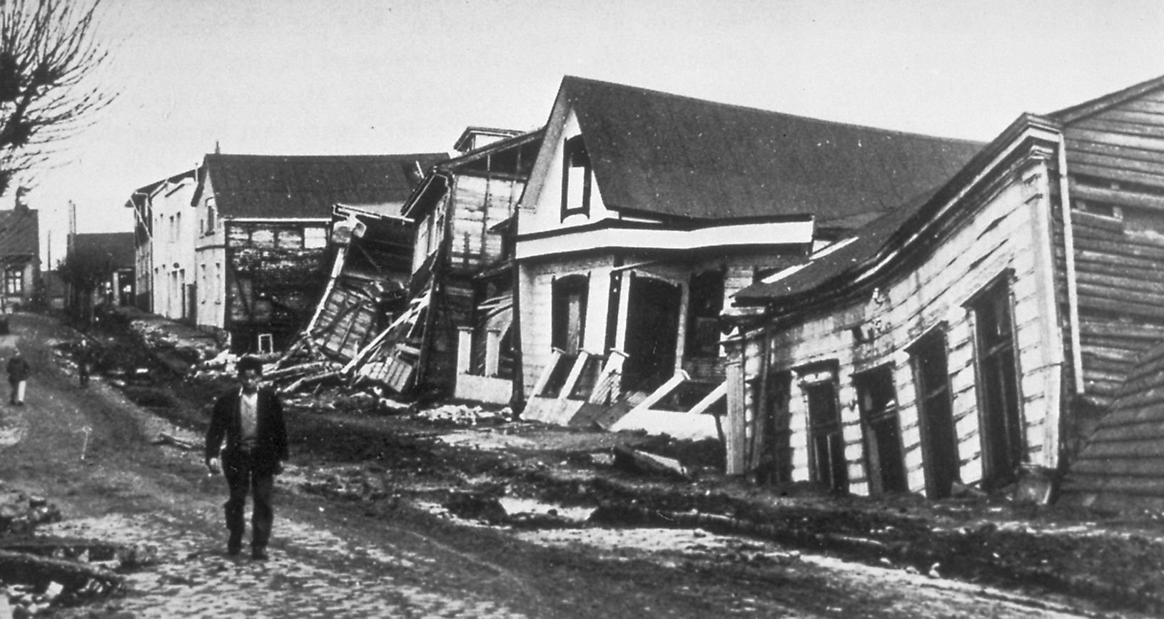 In 1960, Valdivia experienced the most powerful earthquake of all time.