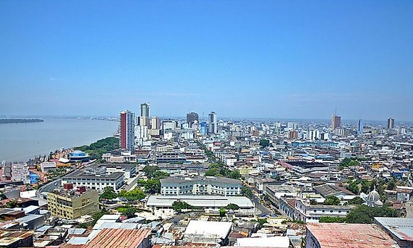 Guayaquil, the capital of Guayas Province, is the largest and most populous city in Ecuador.