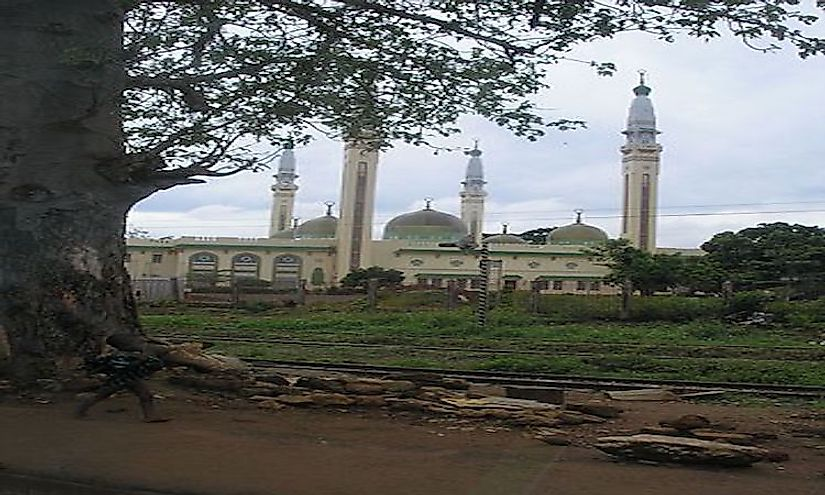 The Conakry Grand Mosque in Guinea, one of the largest mosques in West Africa.