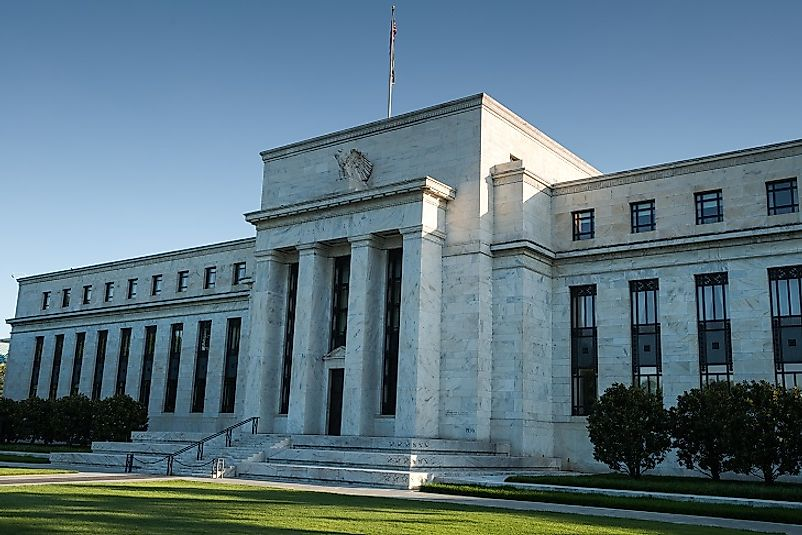 Headquarters of the U.S. Federal Reserve Bank in Washington, D.C.