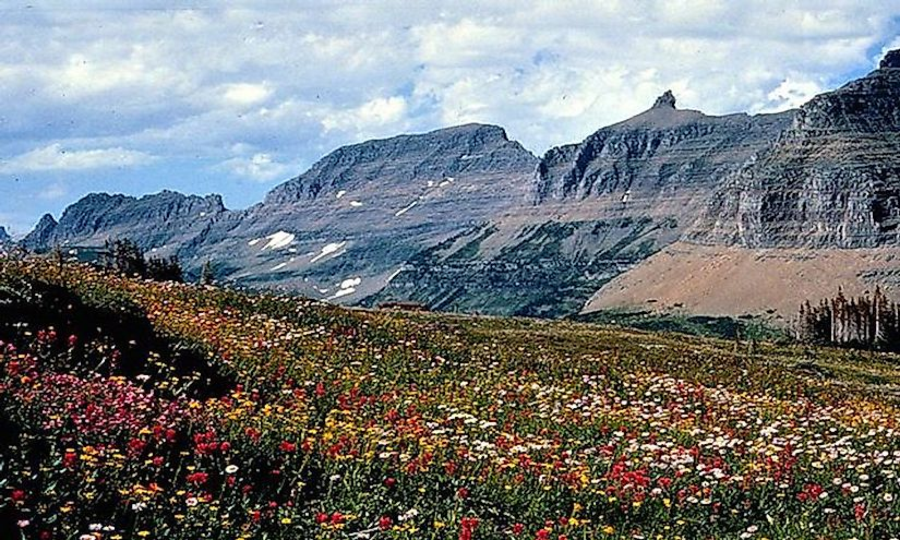 The Garden Wall, an arête in Glacier National Park.