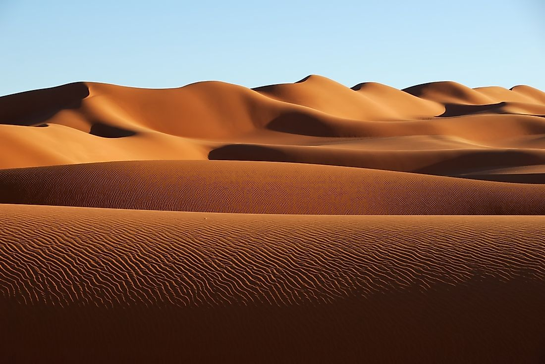 The 10 Largest Deserts In The World
