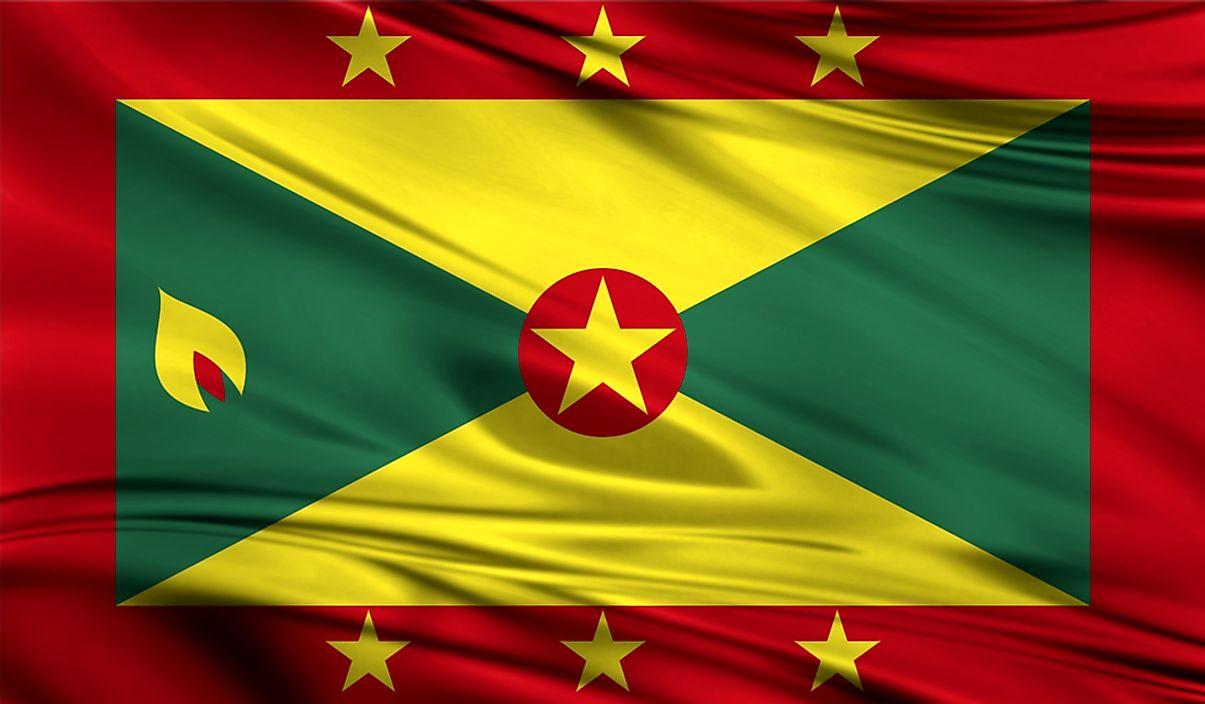 Grenada map geography of grenada map of grenada worldatlas what type of government does grenada have sciox Gallery