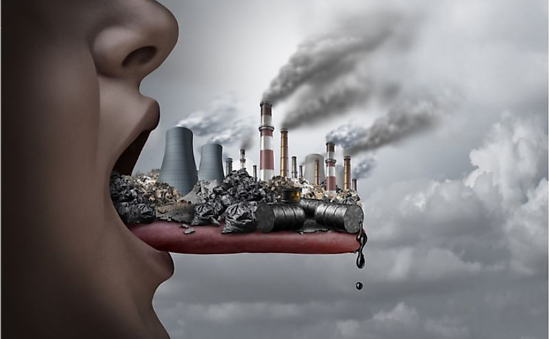 Environmental pollution is one of the biggest issues in the world today.