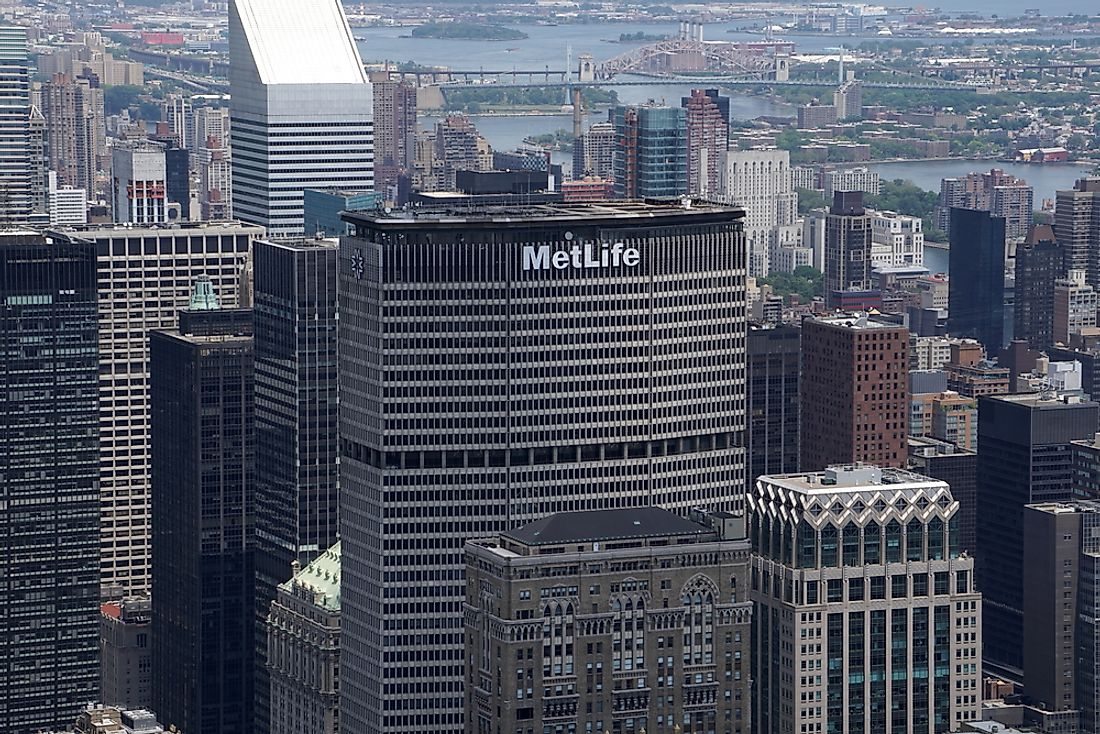 Founded in 1868, Metlife now has 90 million customers worldwide. Editorial credit: BravoKiloVideo / Shutterstock.com