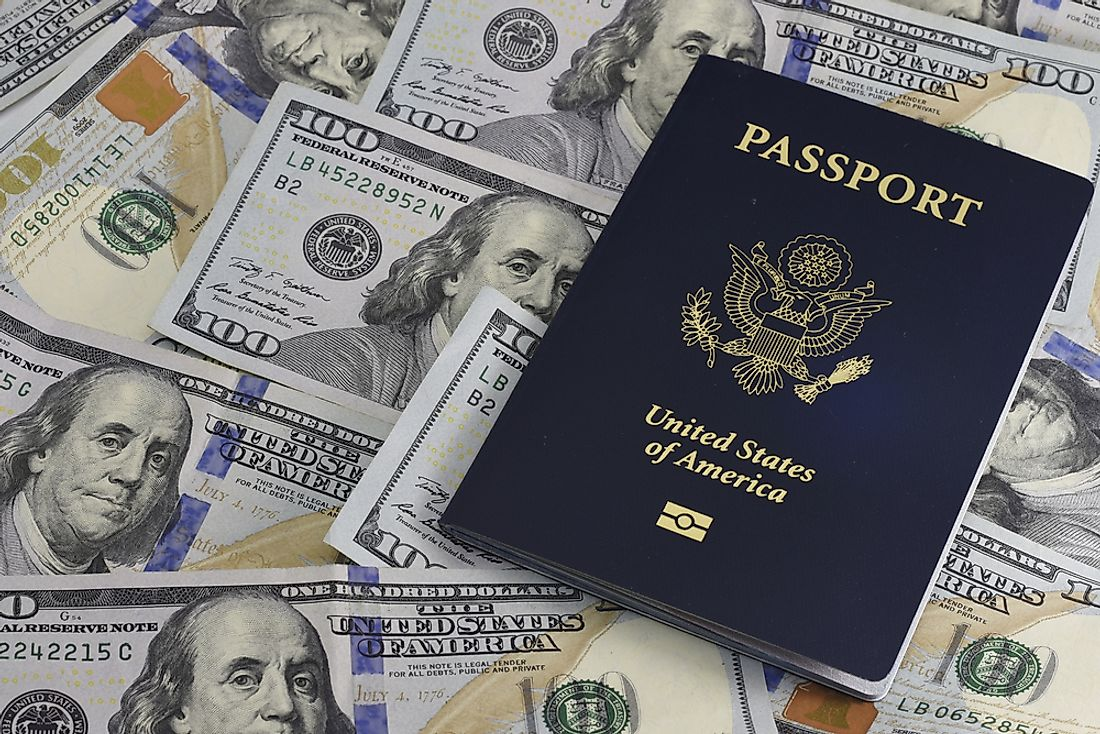 The American passport is one of the strongest passports in the world.