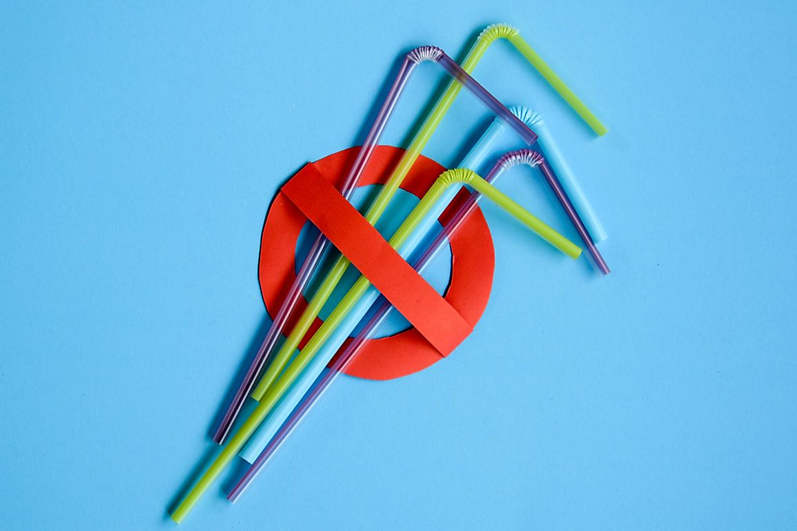 Anti-straw movements around the world are asking people to question their plastic straw usage. Photo credit: shutterstock.com.