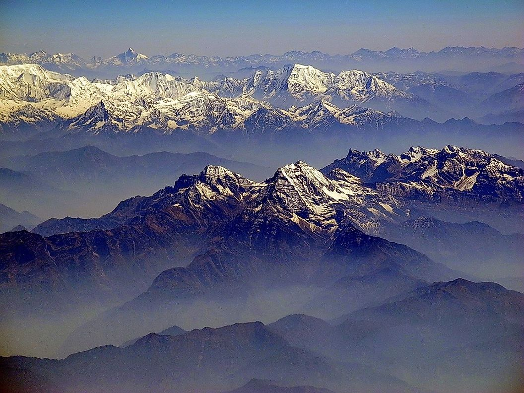 The Eight Thousanders Of The Himalayas And The