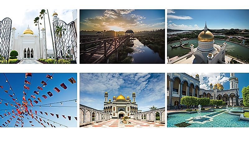 Scenes from Brunei.