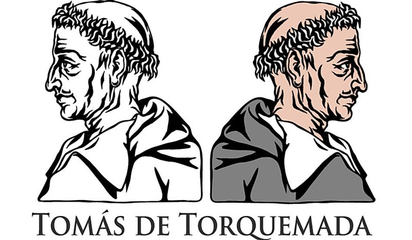 An illustration of Tomas de Torquemada.
