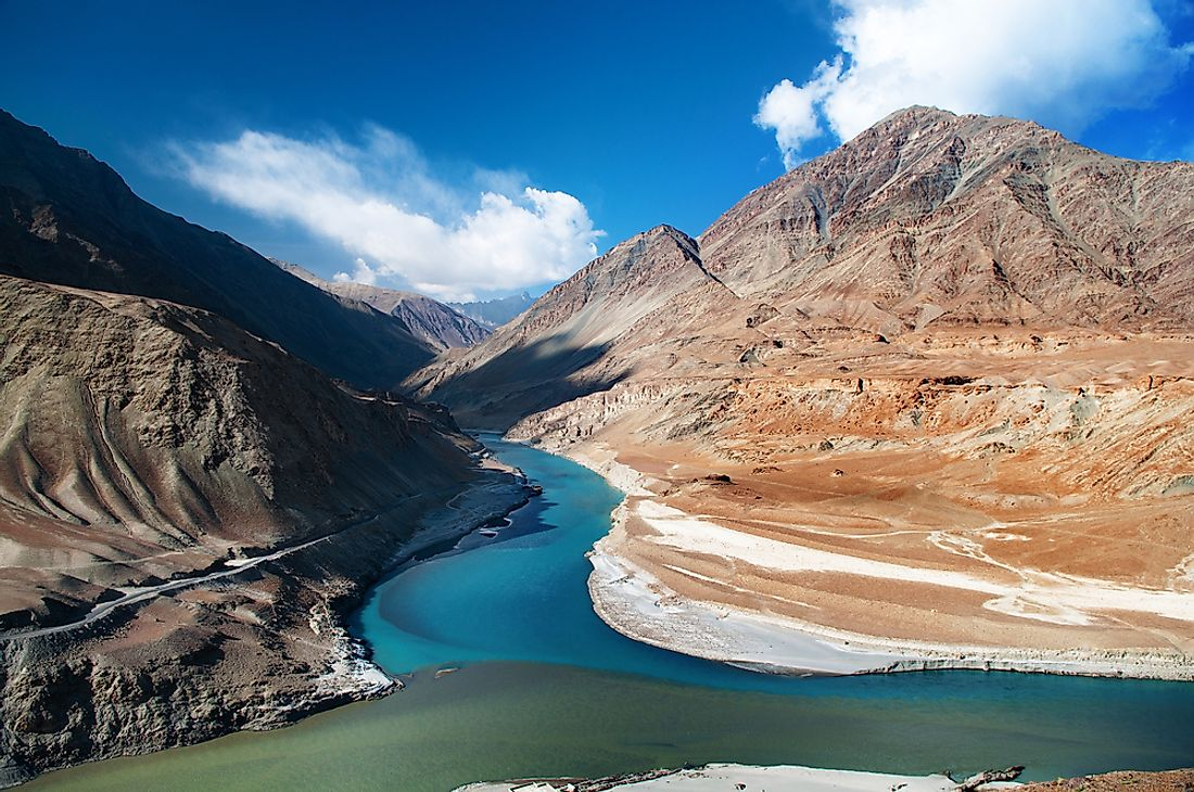 The Indus River is an example of a perennial river.