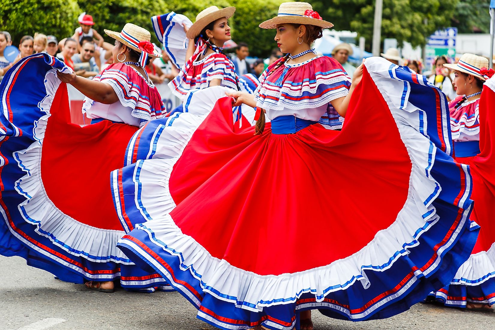 A Costa Rican traditional dance. Image credit: Cara Koch/Shutterstock.com