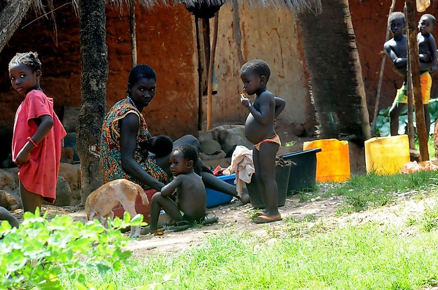 Extreme poverty is widespread in many parts of Africa and living conditions are quite poor.