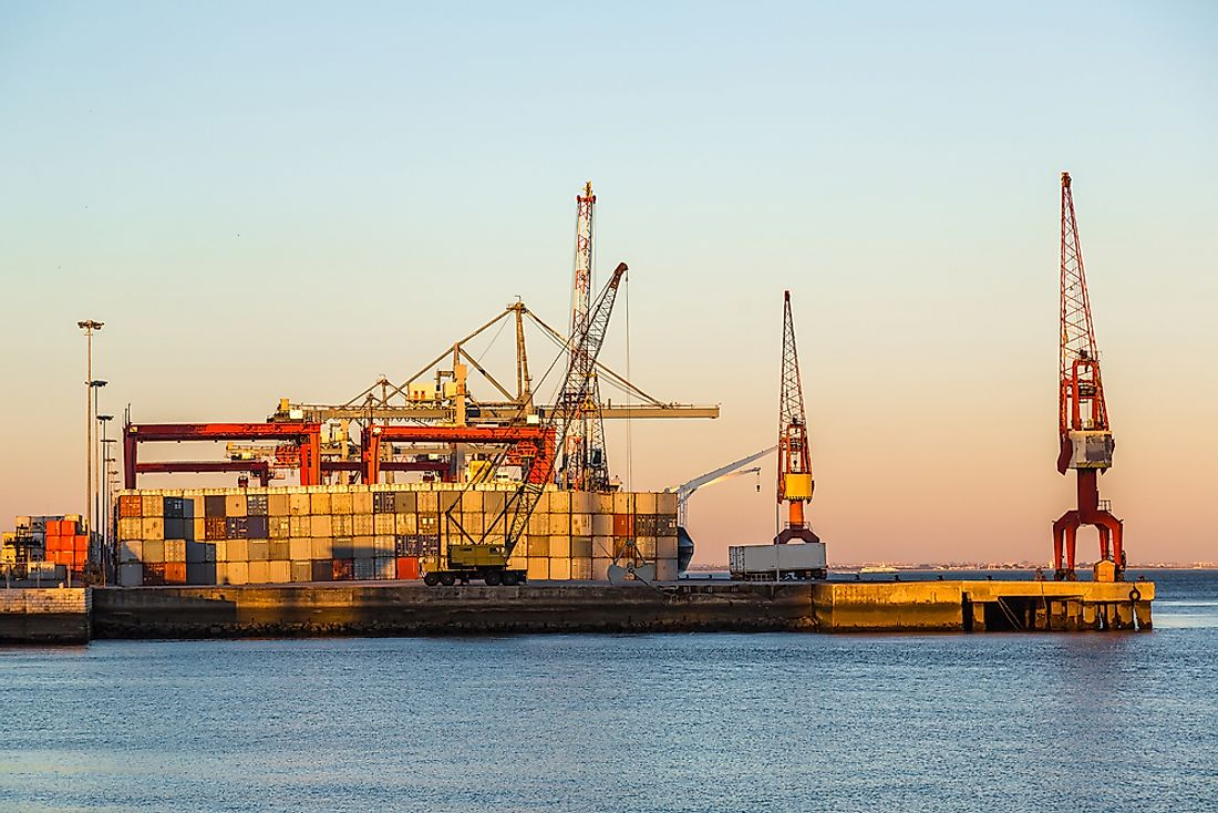 Portugal has the 40th largest export economy in the world.