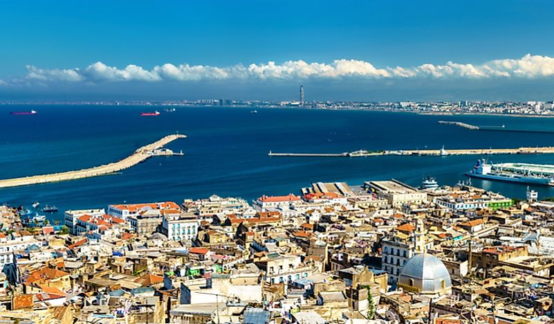 Algiers, the capital city of Algeria.