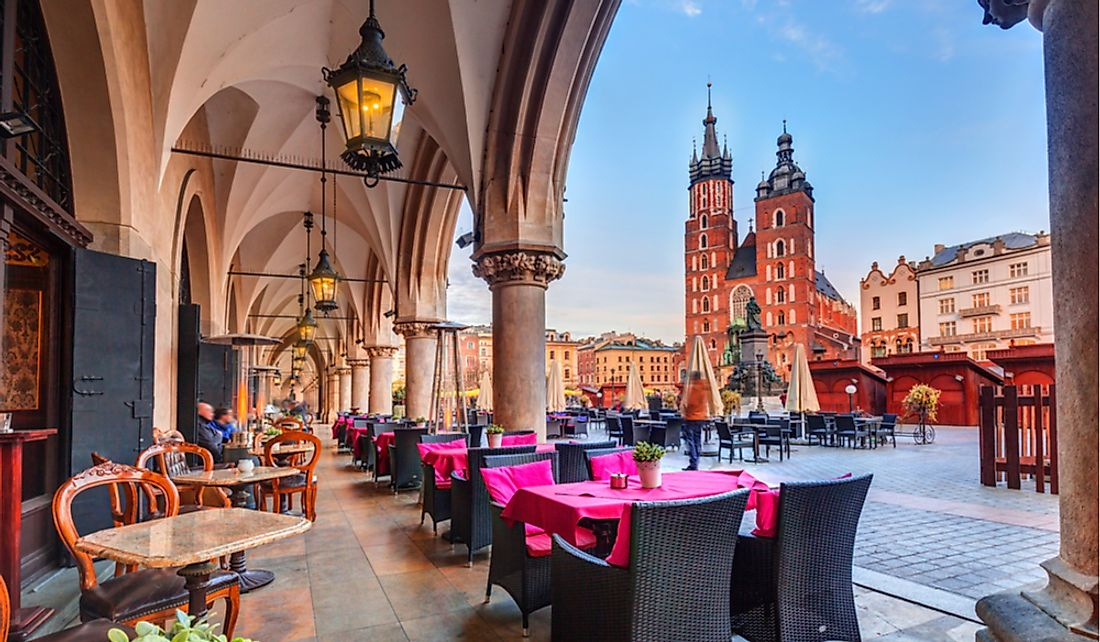 Krakow offers interesting tourism opportunities.