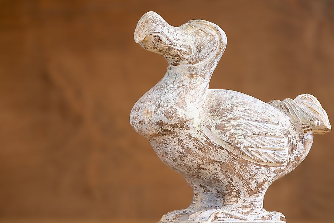 The dodo, a flightless bird of Mauritius, became extinct during the Holocene Period
