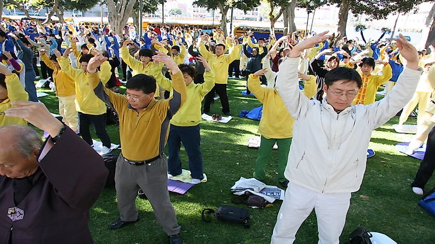 A healthy lifestyle involving proper diet and exercise might help the Chinese people to stay fit longer.