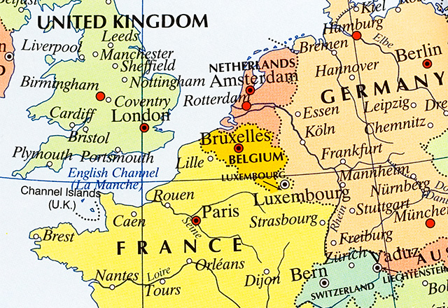 Map Of Germany Luxembourg Belgium.Interesting Facts About Luxembourg Worldatlas Com