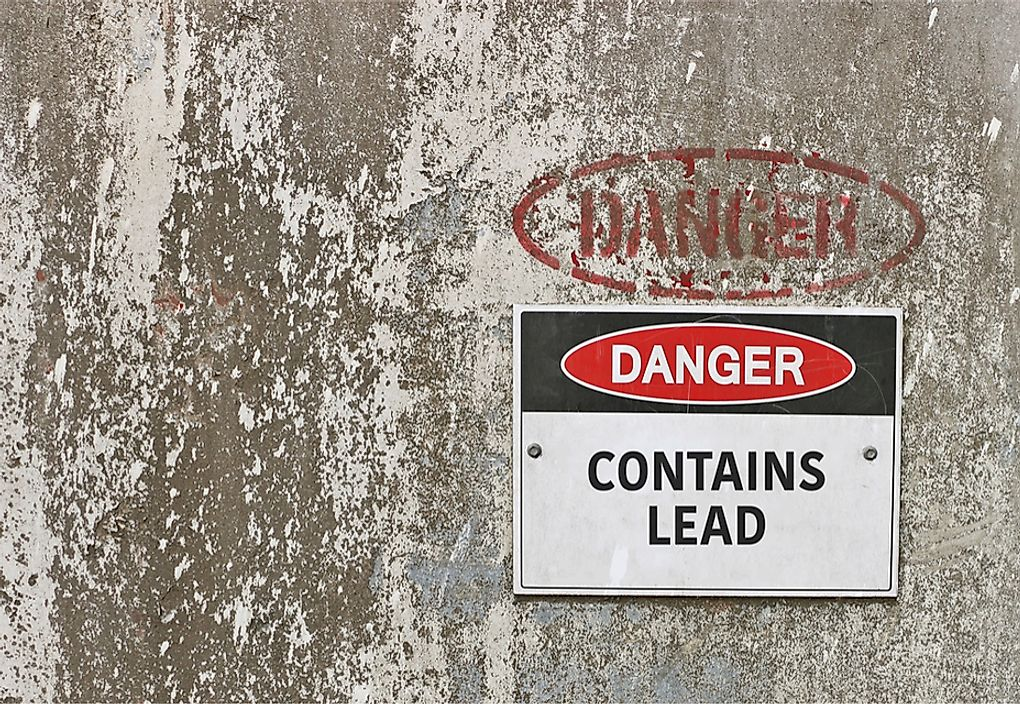 Avoiding exposure is critical in the prevention of lead poisoning.