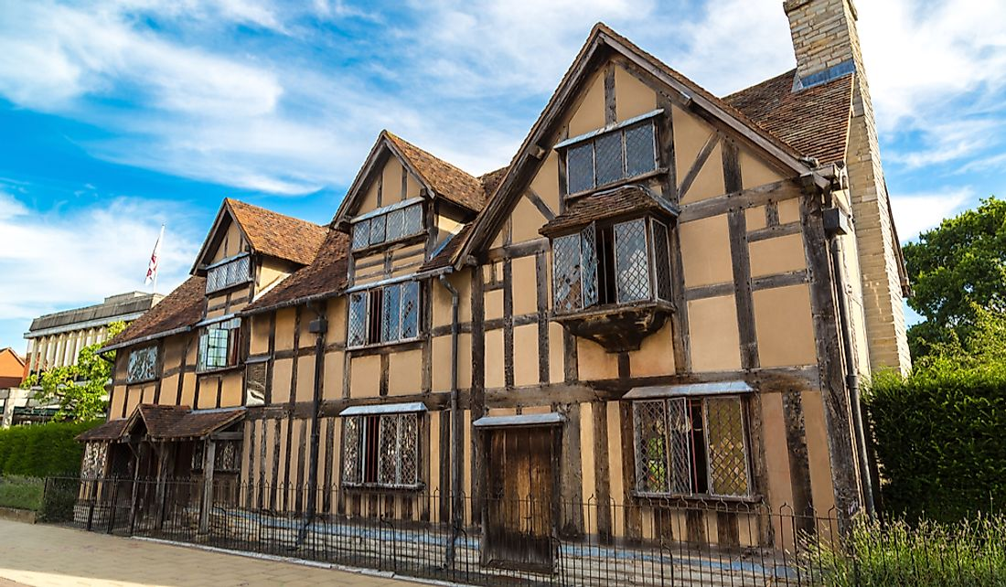 Shakespeare's Birthplace is a popular tourist destination in England.