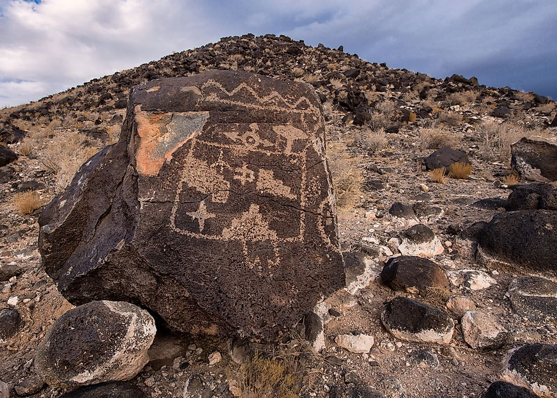 Petroglyph National Monument is known for its thousands of petroglyphs.