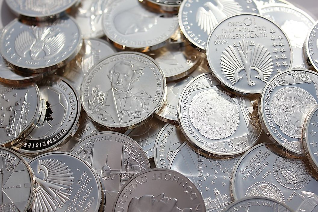 Coins Made Of Silver