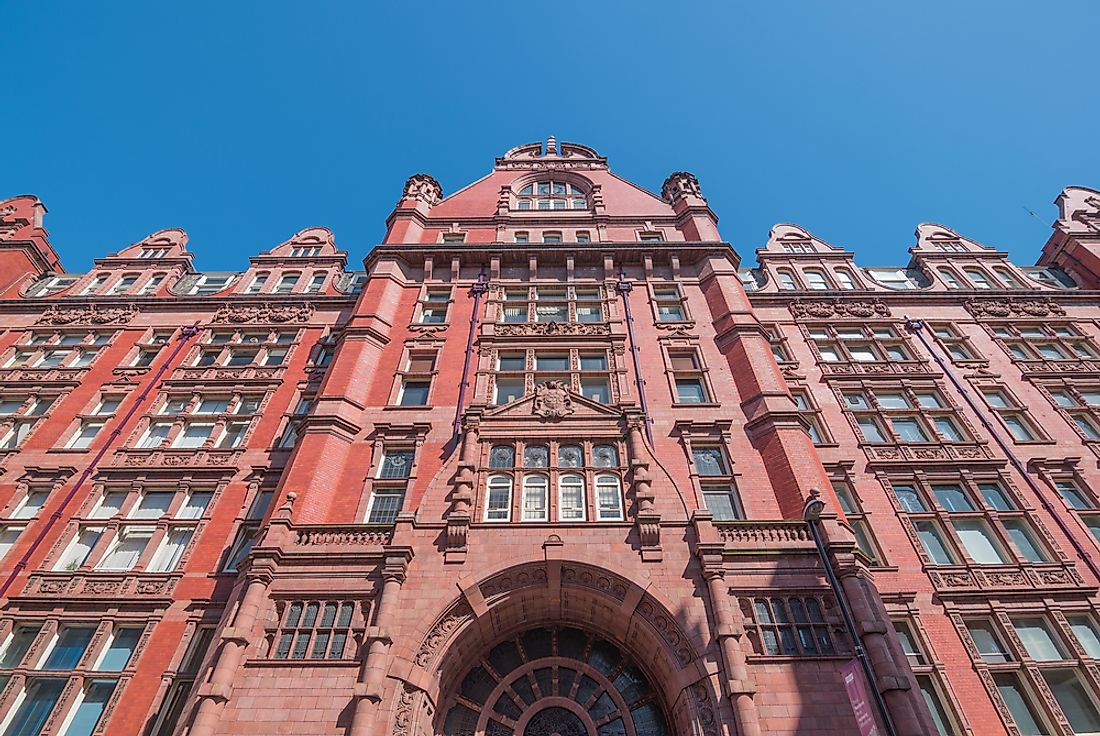 The University of Manchester is one of England's largest universities.