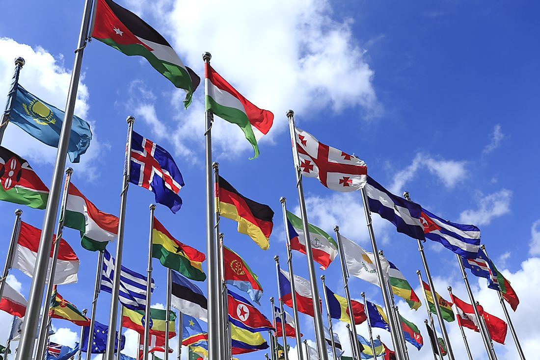 Vexillology focuses on the different flags of the world.