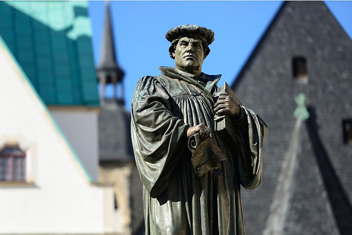 Martin Luther, a professor of Moral Theology at the University of Wittenberg, Germany wrote the Ninety-Five Theses for an academic disputation.
