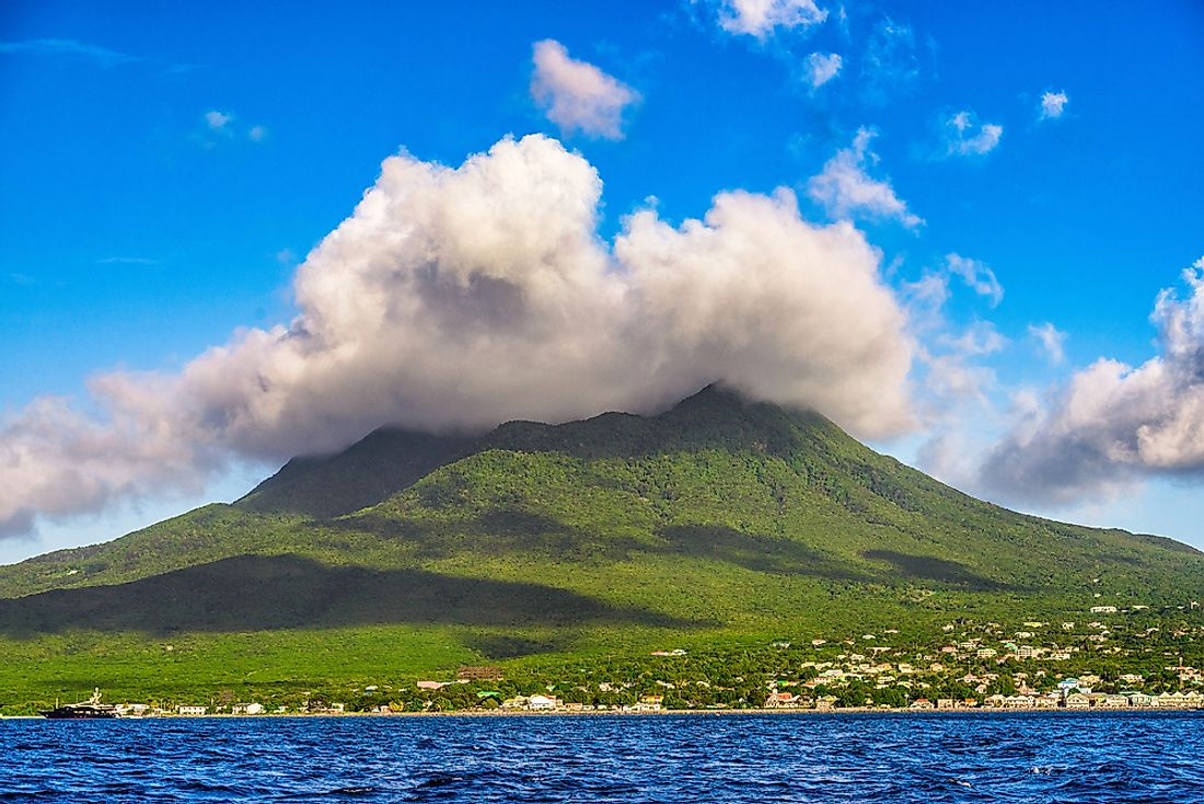 Tourism is a part of Saint Kitts and Nevis' economy, mostly thanks to its beautiful scenery.