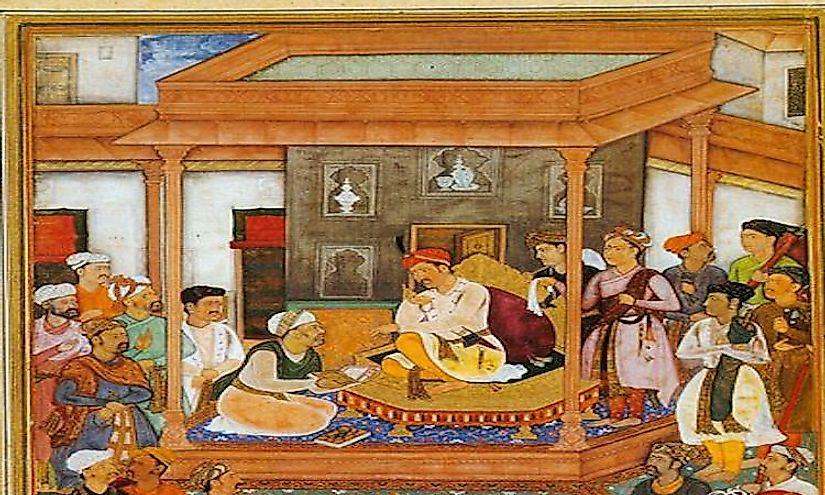 #1 Abu'l-Fazl ibn Mubarak -