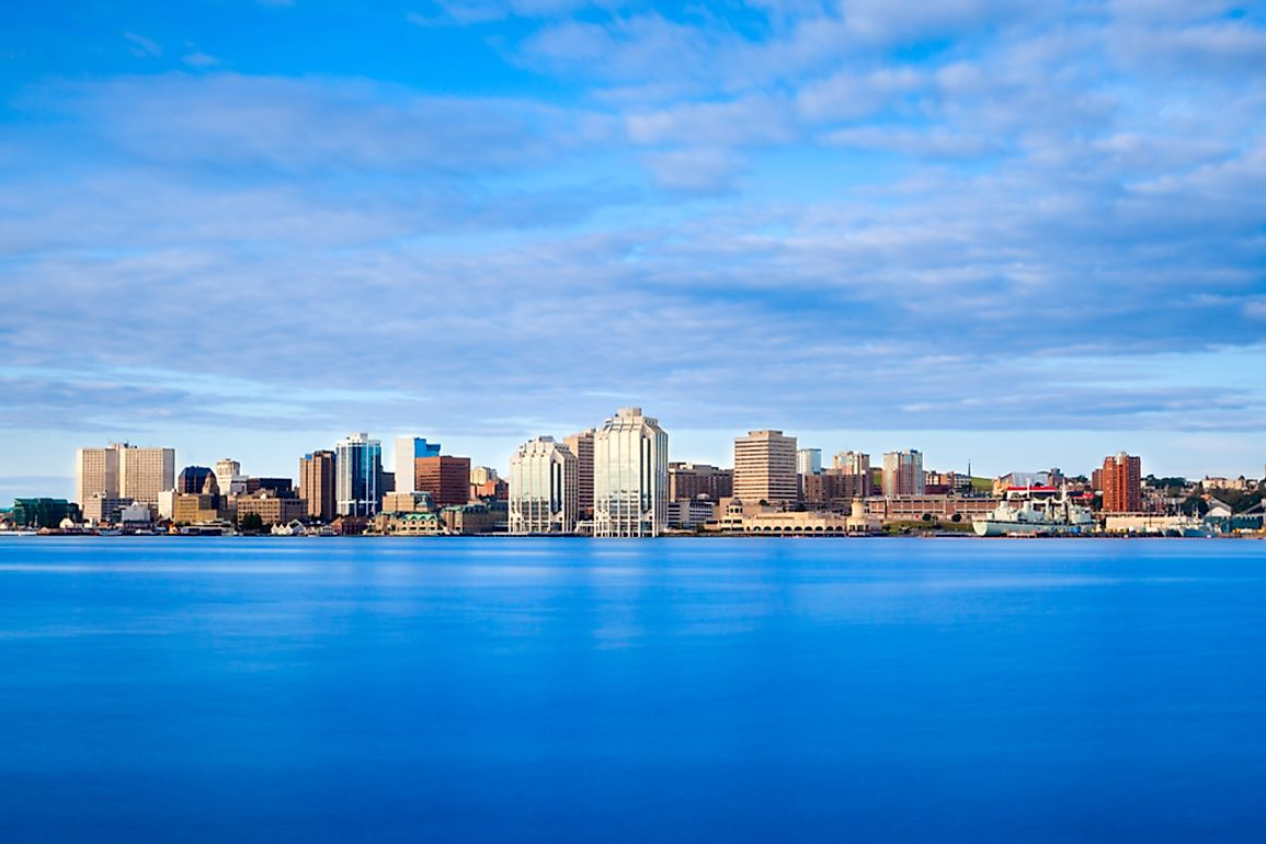View of downtown Halifax, Nova Scotia.