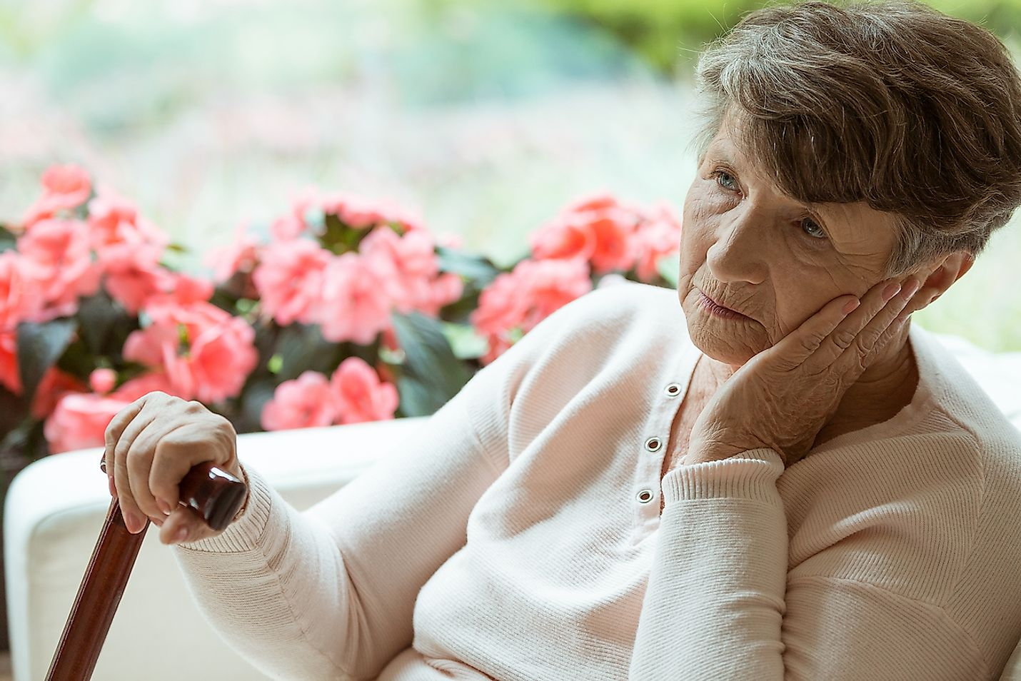 Alzheimer's disease affects the elderly. Image credit: Photographee.eu/Shutterstock.com