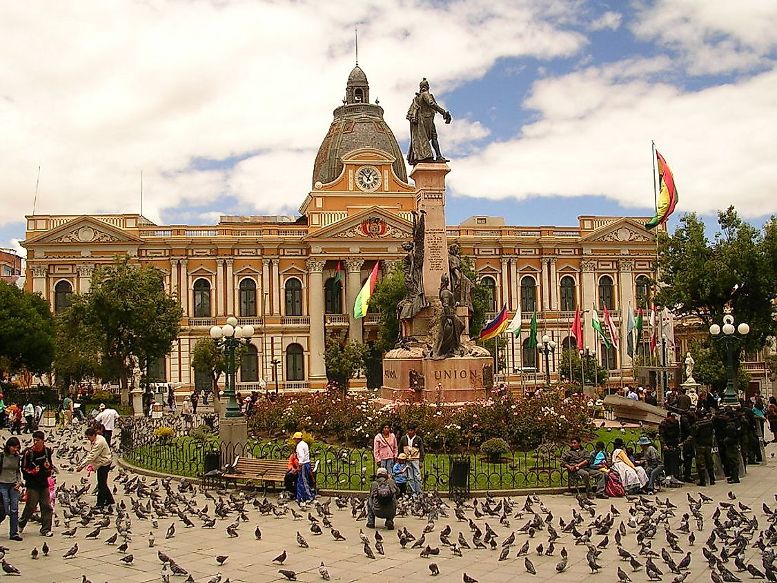 The Parliament of Bolivia.