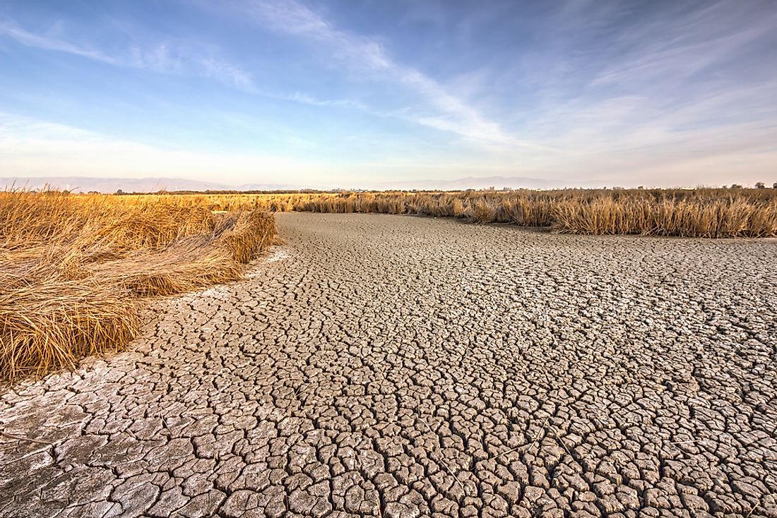 What Caused the California Drought