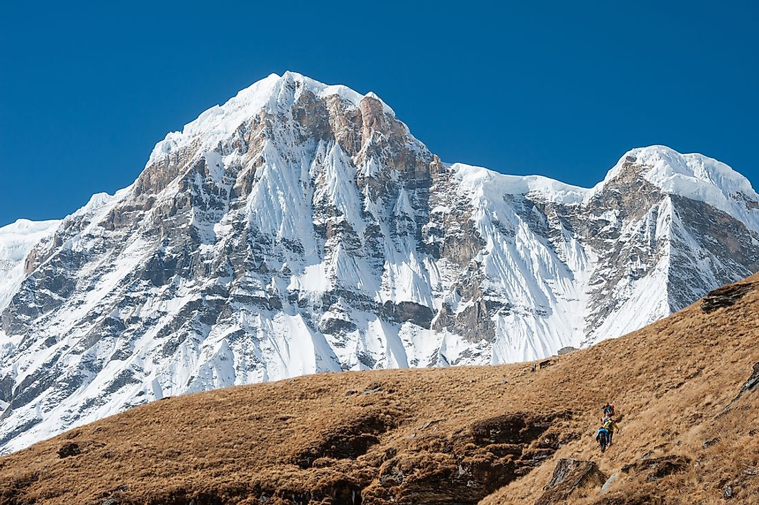 Mount Annapurna is considered to be the world's most dangerous mountain to climb.
