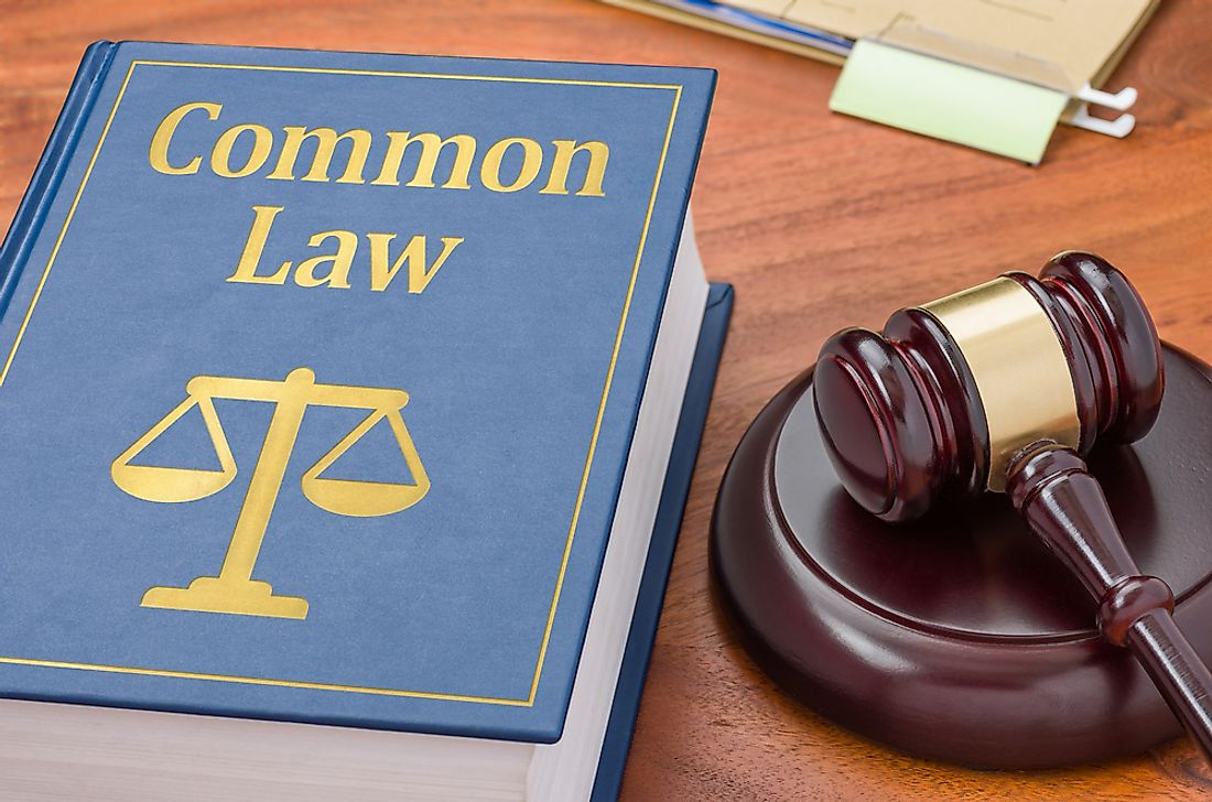 Common law is practiced in a number of countries.