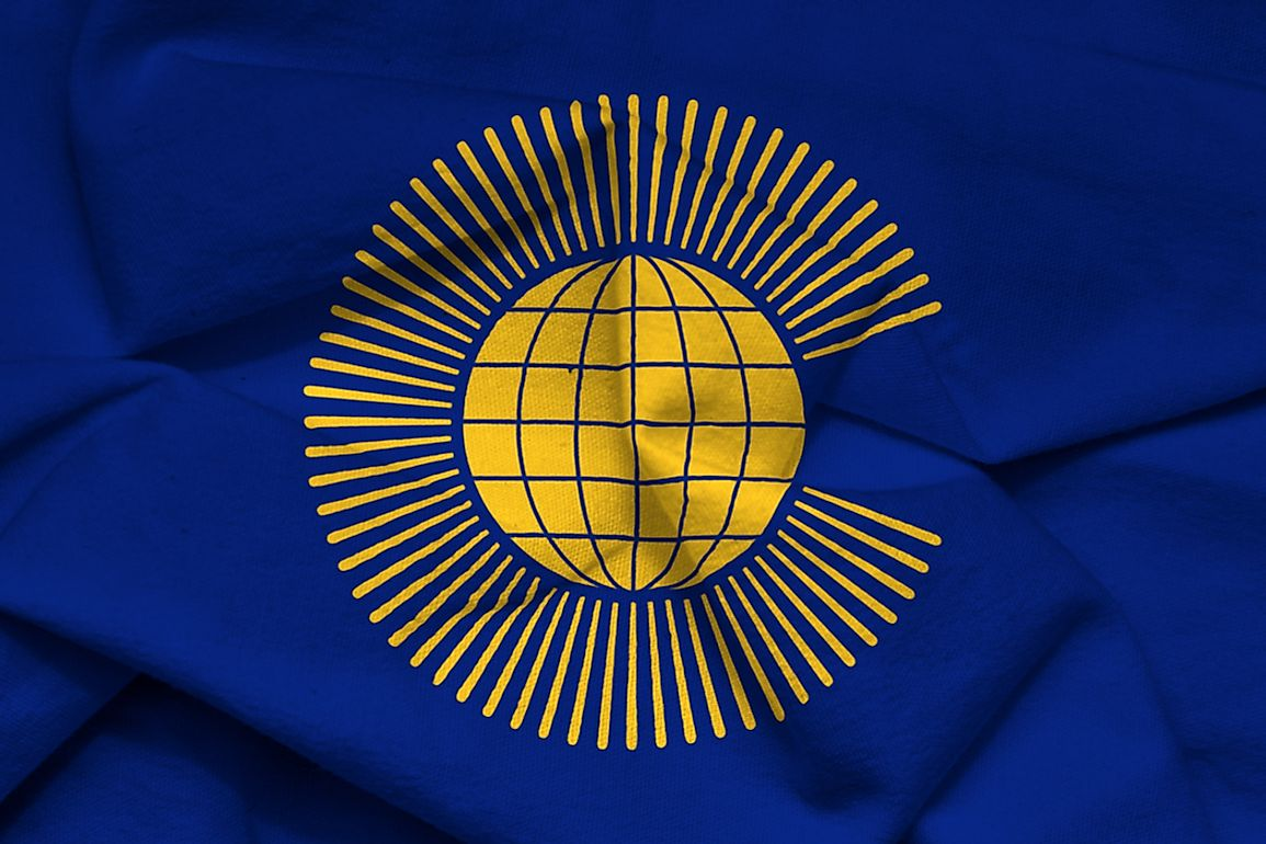 The flag of The Commonwealth of Nations.