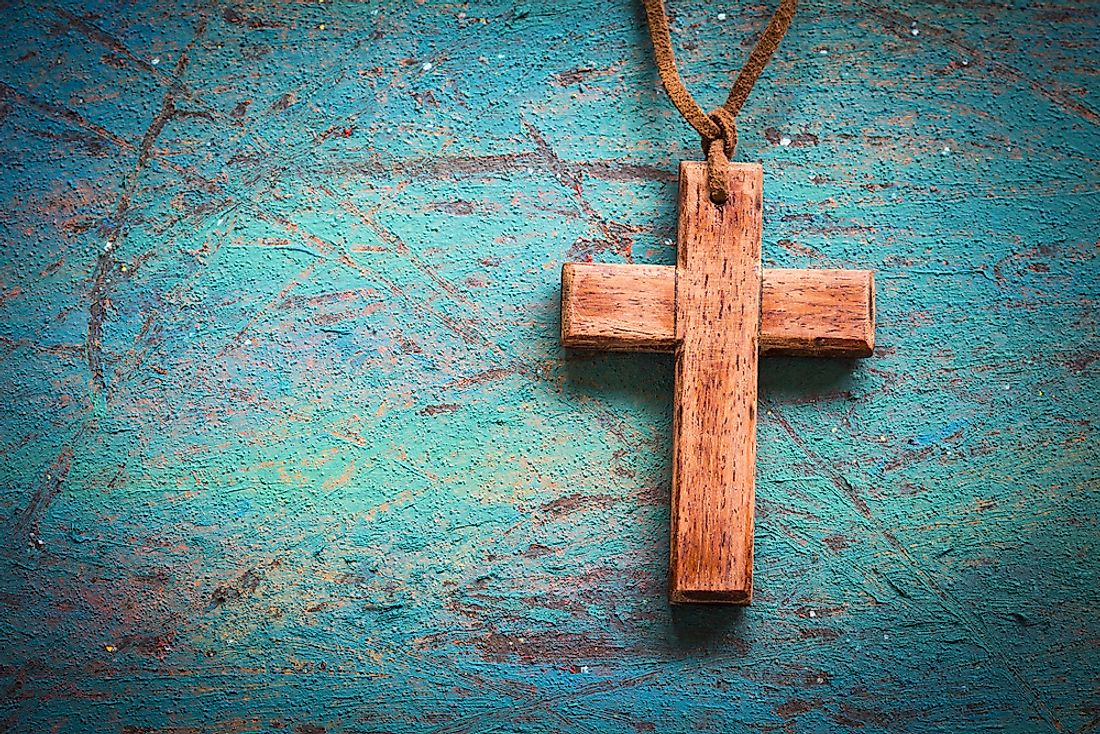 The cross is the most famous universal symbol of Christianity.